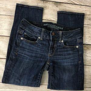 American Eagle Outfitters Jeans - AEO 0 Artist Crop Stretch Denim Capri Crop Pants